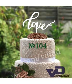 """Топпер №104 """"love"""""""
