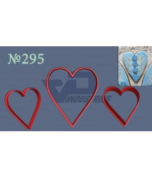 """Вырубка №295 """"Сердце заостренное"""""""