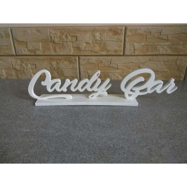 """Надпись №2 """"Candy Bar"""""""