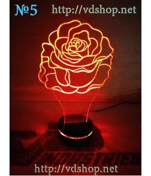 """Светильник №5 """"Роза"""""""