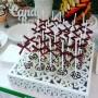 """Подставка №5 - """"квадратная резная"""" - Под торт и другие кондитерские изделия"""
