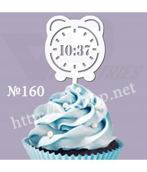 """Топпер №160 """"Метрика Часы"""""""