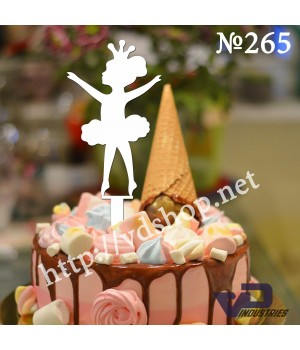 """Топпер №265 """"Маленькая балерина"""""""