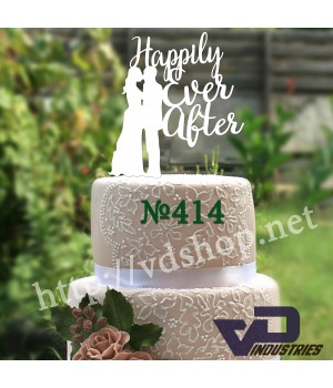 """Топпер №414 """"Happily Ever After"""""""