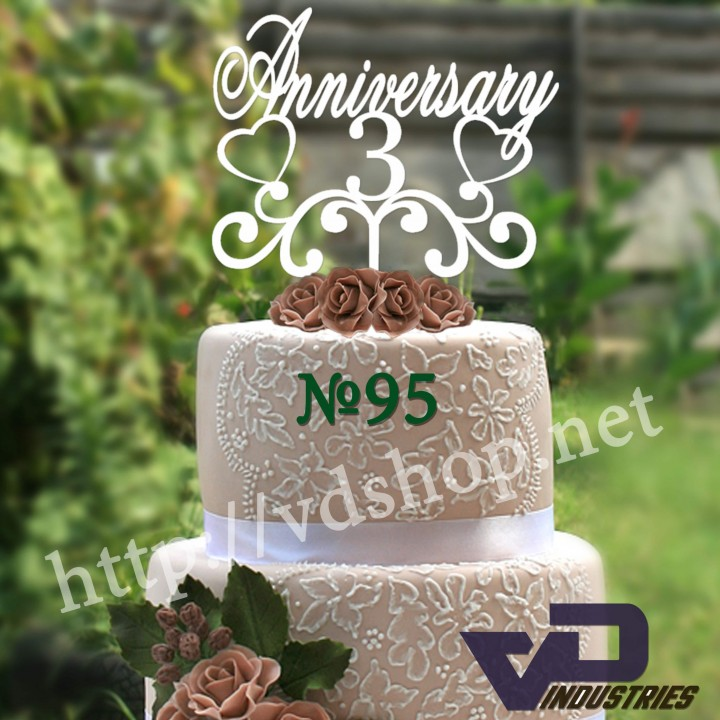 "Топпер №95 ""Anniversary 3"""