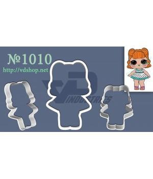 "Вырубка №1010 ""Кукла ЛОЛ - JITTERBUG"""