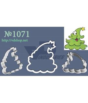 """Вырубка №1071 """"Веселая елка"""""""