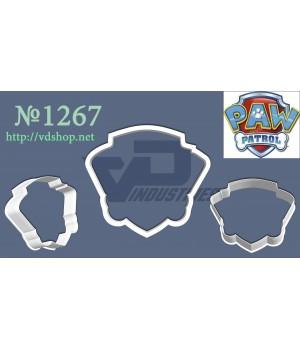 """Вырубка №1267 """"Логотип - щенячий патруль"""""""