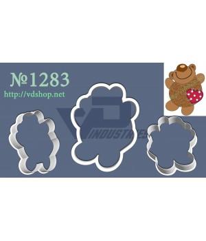 """Вырубка №1283 """"Счастливый медведь"""""""