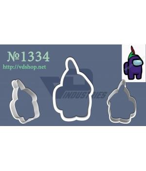 """Вырубка №1334 """"Amoung us фиолетовый"""""""