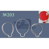 """Вырубка №203 """"Воздушный шарик"""""""