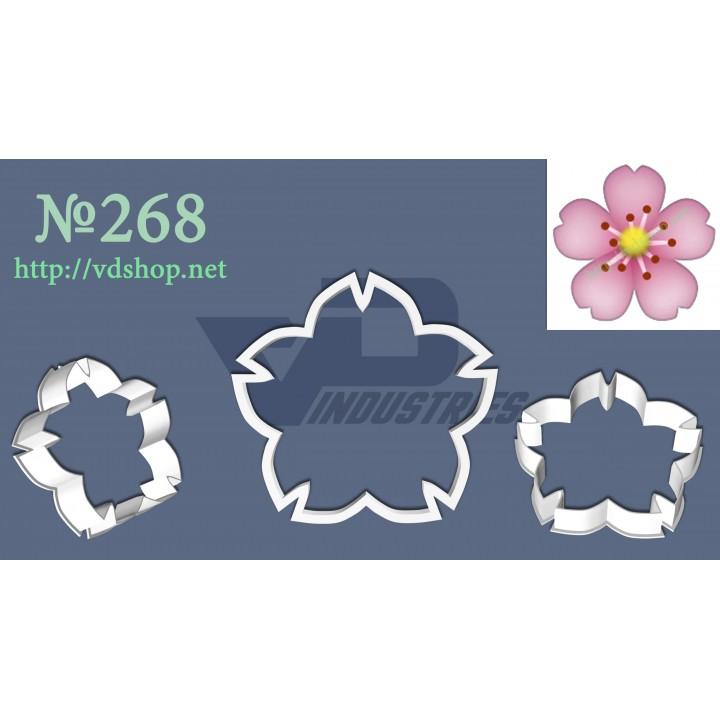 """Вырубка №268 """"Цветочек"""""""