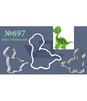 """Вырубка №697 """"Динозаврик"""""""