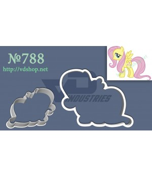 "Вырубка №788 ""Мои маленькие пони - Флаттершай"""