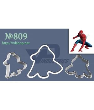 """Вырубка №809 """"Человек паук в прыжке"""""""