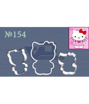 "Вырубка №154 ""Hello Kitty"""